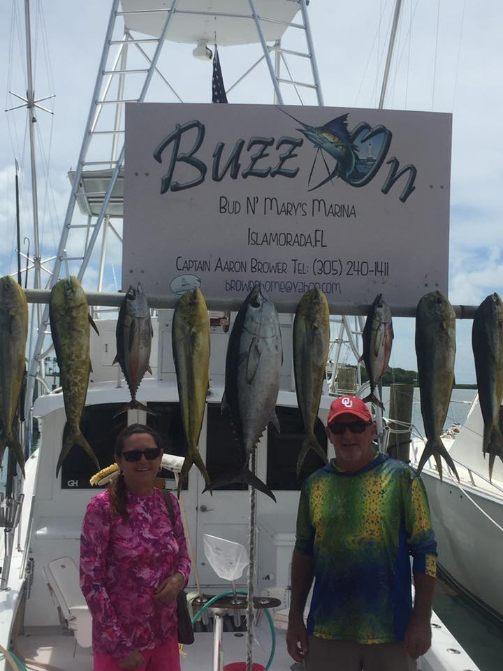 Islamorada fall fishing blackfin and dolphin