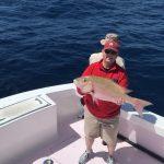 March Islamorada Fishing report 18lb mutton snapper