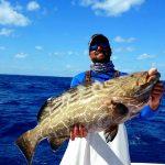 March Islamorada fishing report Grouper